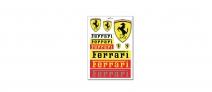 Ferrari Set of Stickers