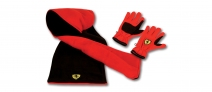 Ferrari Kids Gloves And Scarf Pack