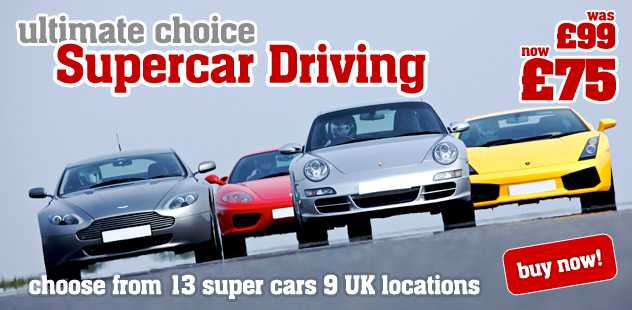 Ultimate Choice Supercar Driving