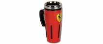 Ferrari Scudetto Metallic Flask