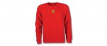 Ferrari Mens Sweatshirt Mid Scudetto