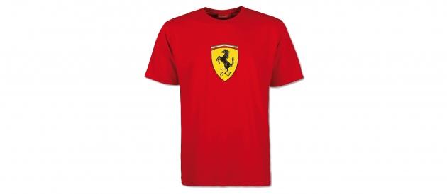 Ferrari Mens T-Shirt Big Scudetto