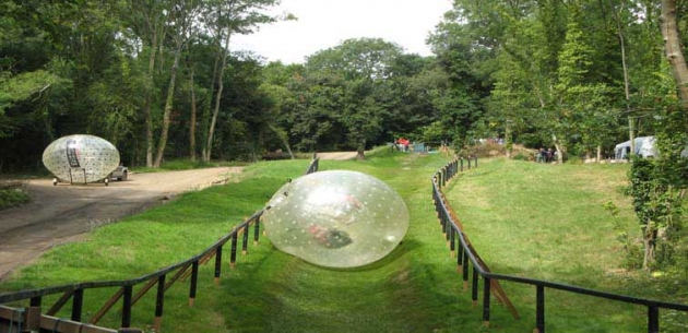 Harness & Aqua Zorbing Package for 2 People in Surrey