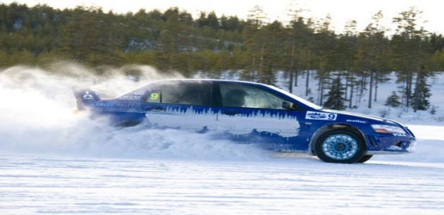 Corporate Winter Ice Driving