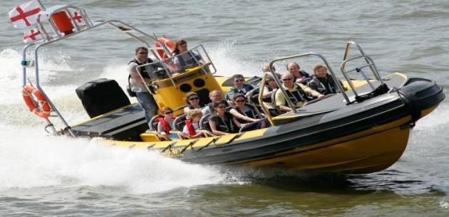 Canary Wharf Boat Trip
