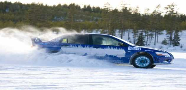 Winter Ice Driving