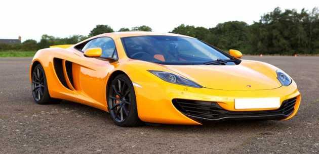 McLaren MP4-12C Thrill Driving Experience
