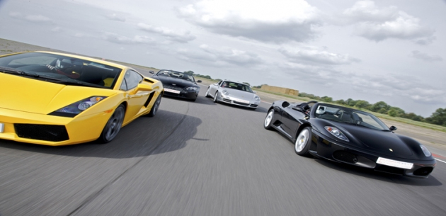 Supercar x 4 Driving Experience - Drive 4 Cars!