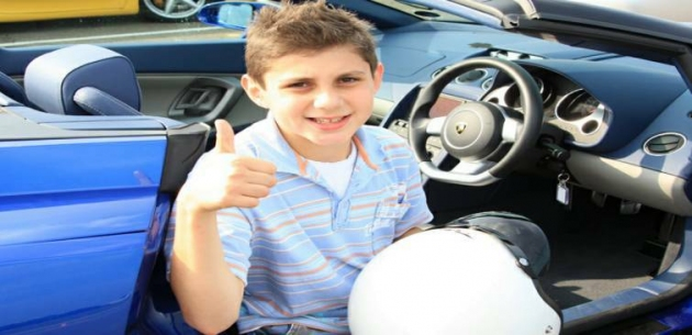 Kids Aston Martin Driving Experience