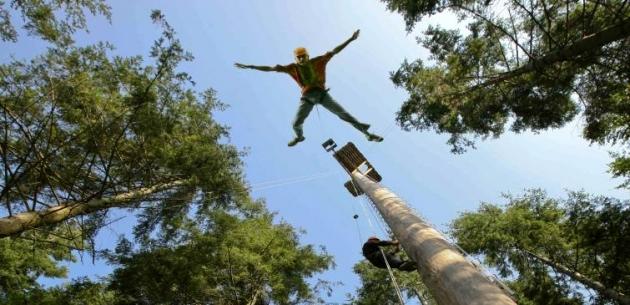 Tree Top Adventure and Powerfan Plummet