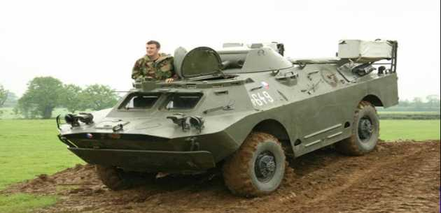Military Vehicle Driving Experience