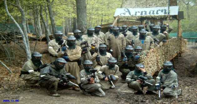 Group Paintballing