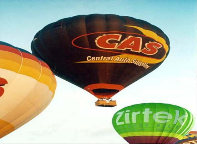 Hot Air Balloon Flight Anytime For 2 People