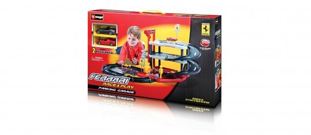 Kids Ferrari Parking Garage