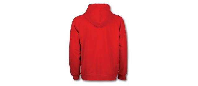 Ferrari Mens Sweatshirt Hood Scudetto Stripe